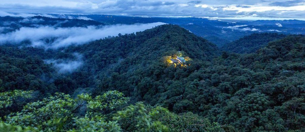 The cloud forest in Ecuador: Mashpi Lodge