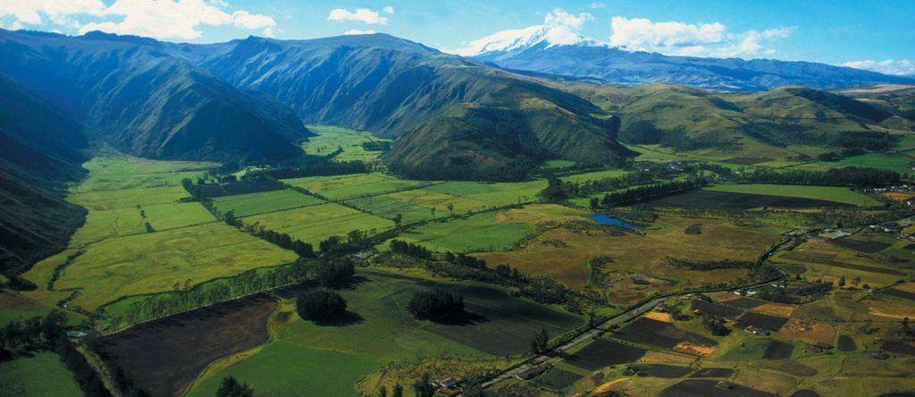 The Andes in Ecuador
