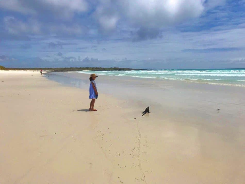 Tortuga Bay, Santa Cruz Island, Galapagos